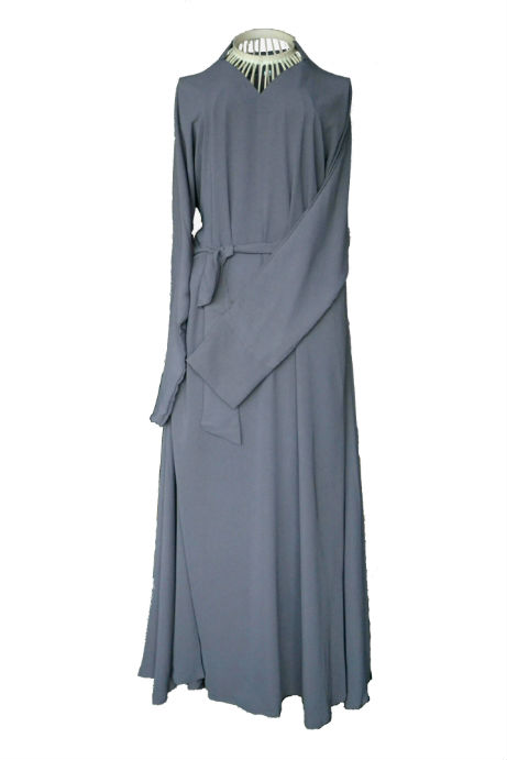 Classically Grey Abaya
