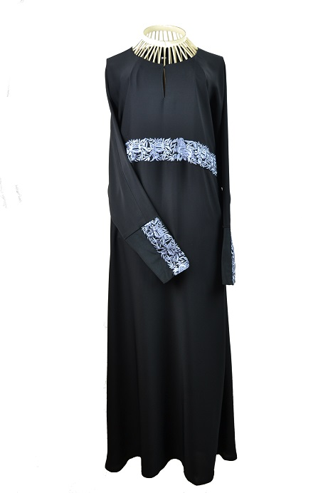 Winter Flower Abaya
