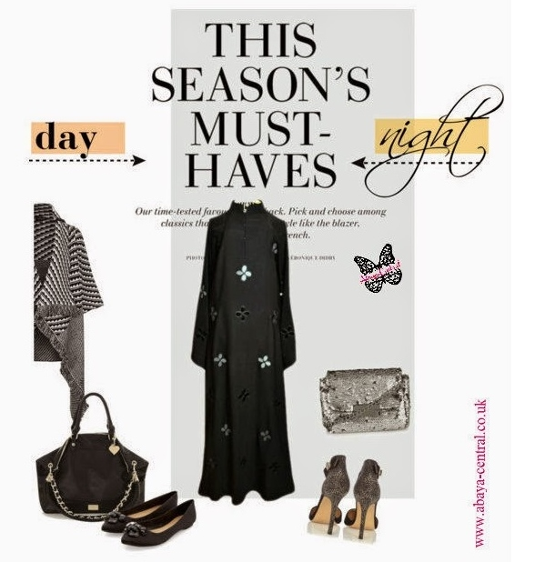 Day to Night Style Guide: Floaty Florals Abaya