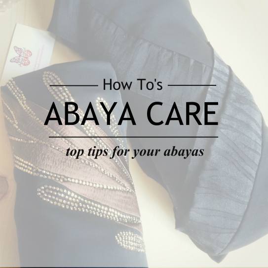 Abaya Care Top Tips- How to care for your abayas