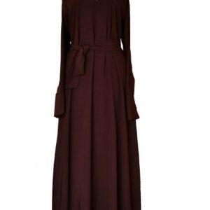 1 brown abaya