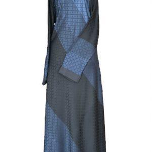 Black & Blue Abaya