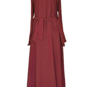 1 maroon abaya