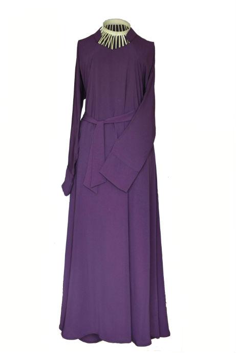 2 purple abaya