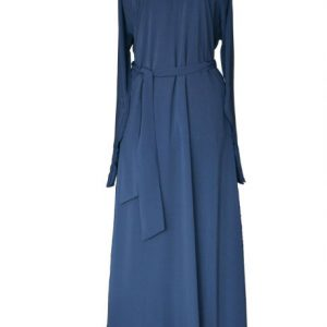 Navy blue abaya uk 1