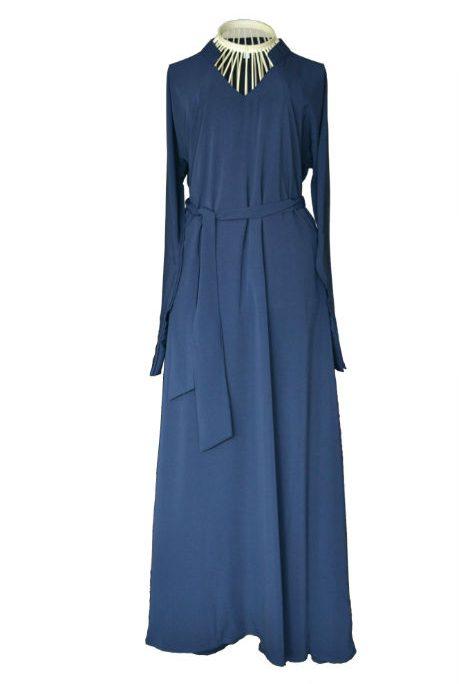 Navy blue abaya uk 1