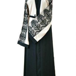 lace abaya 1