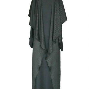 Modern Abaya Jacket- front