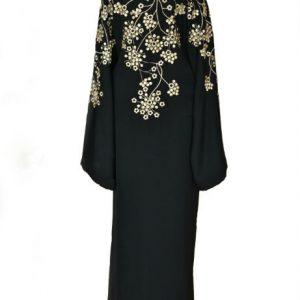 open abaya back
